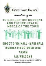 Current and future health needs for Didcot